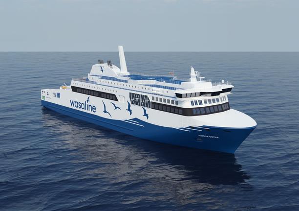 Wasalinen uuden laivan nimeksi tulee Aurora Botnia.