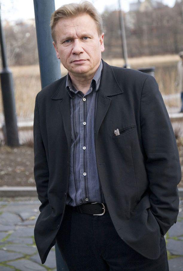 Pertti Koivula Ylen infossa loppuvuodesta 2008.