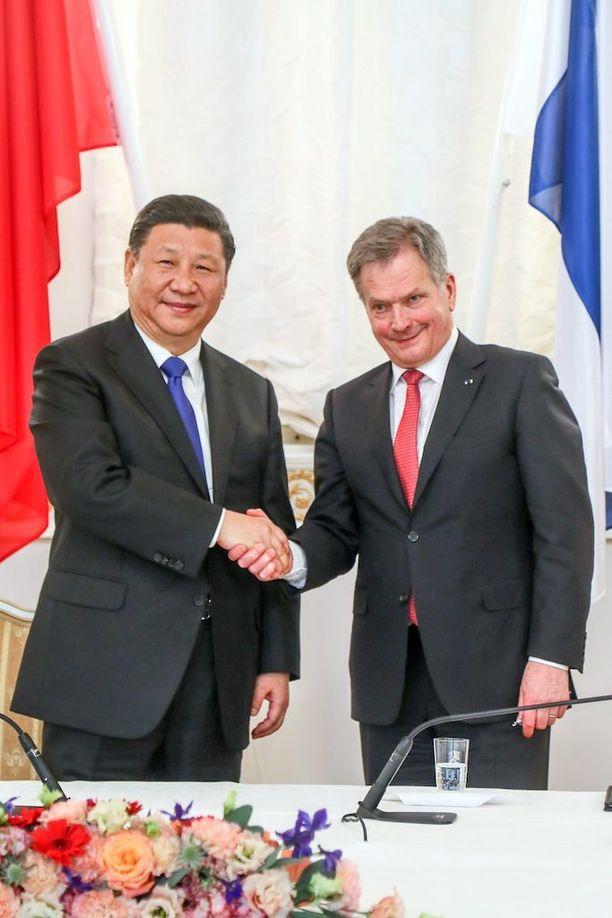 Kiinan presidentin Xi Jinping vieraili tällä viikolla Suomessa.