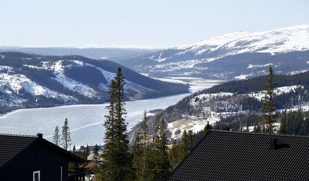 Zlatanin talosta voi ihailla Åren komeimpia maisemia.