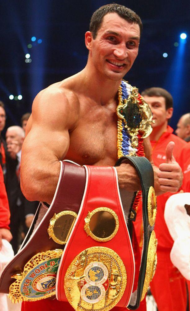 Vladimir Klitshko uusi maailmanmestaruutensa.