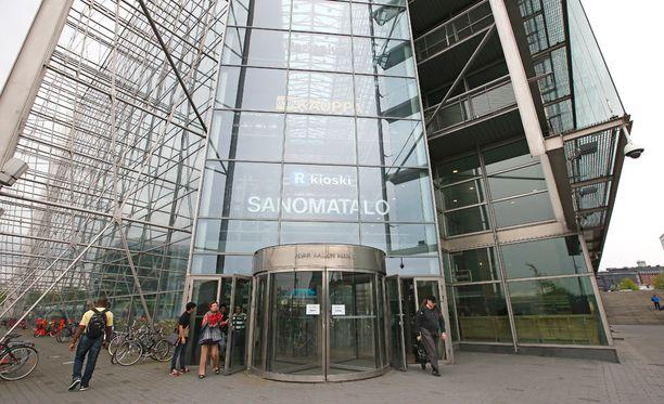 Sanoma-konserni joutui verkkovakoilun kohteeksi elokuussa 2015. Kuvassa Sanomatalo.