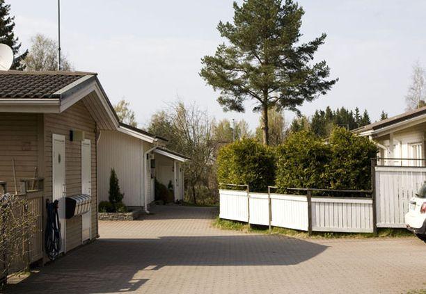 Käräjillä puitu tappelu sattui helsinkiläisessä rivi-taloyhtiössä toissa syksynä.