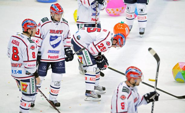 HIFK:n kausi SM-liigassa päättyi eilen 2–0-tappioon.