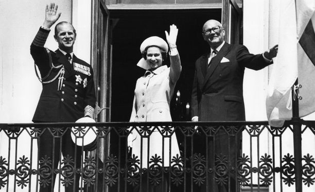 Ison-Britannian kuningatar Elisabet II on vieraillut Suomessa kahdesti.