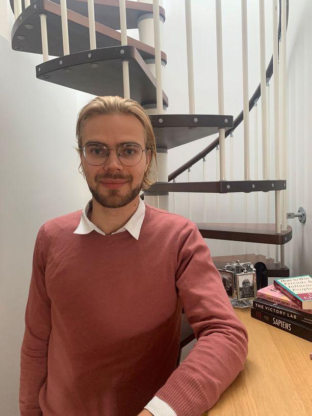 Nicolas Sjöberg ei ole osallistunut opiskelijabileisiin, mutta sairastui silti koronaan. Hän muistuttaa, että nuorille on henkisen hyvinvoinnin vuoksi todella tärkeää tavata ystäviä.