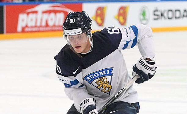 Julius Honka vahvistaa Leijonia MM-kisoissa.