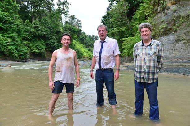 Richard Hammond, Jeremy Clarkson ja James May seikkailevat ensi viikolla MTV3:lla nähtävässä jaksossa Burmassa.