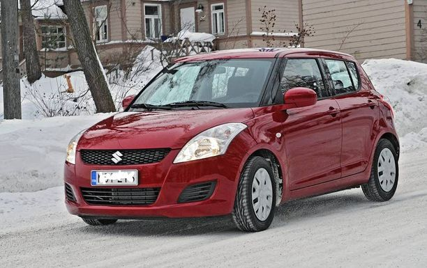 Suzuki Swift on varsin viaton auto.