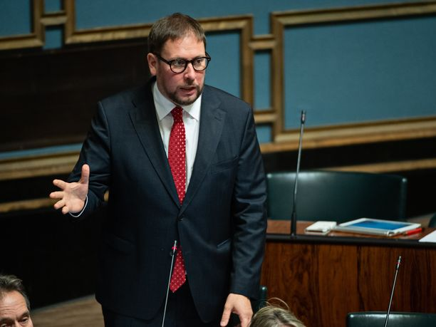 Vasemmistoliiton ex-puheenjohtaja Paavo Arhinmäki toimi kulttuuri ja urheiluministerinä vuosina 2011-2014.
