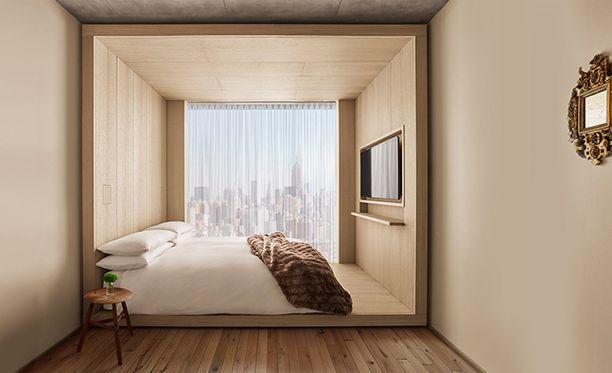 Huoneen saa halvimmillaan noin 220 eurolla yöksi.