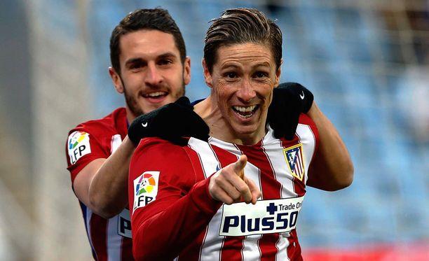 Atléticon Fernando Torres on löytänyt maalijyvänsä viime otteluissa.