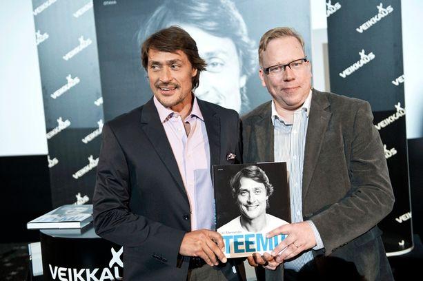 Teemu-kirjan julkistamistilaisuus järjestettiin eilen Helsingin Tennispalatsissa.