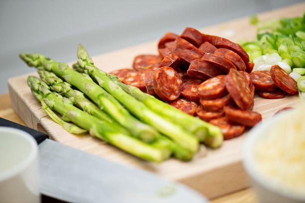 Chorizo on espanjalaista, mausteista makkaraa.