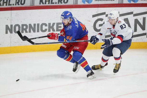 Jesper Jensen sai Torpedo-ottelusta tililleen yhden syöttöpisteen.