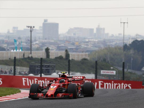 Ferrari epäonnistui Japanin GP:n aika-ajoissa.