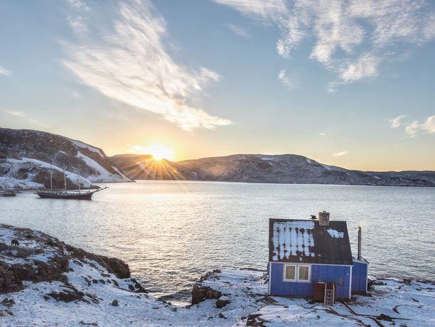 Ittoqqortoormiitista pääse kätevästi Itä-Grönlannin kansallispuistoon.