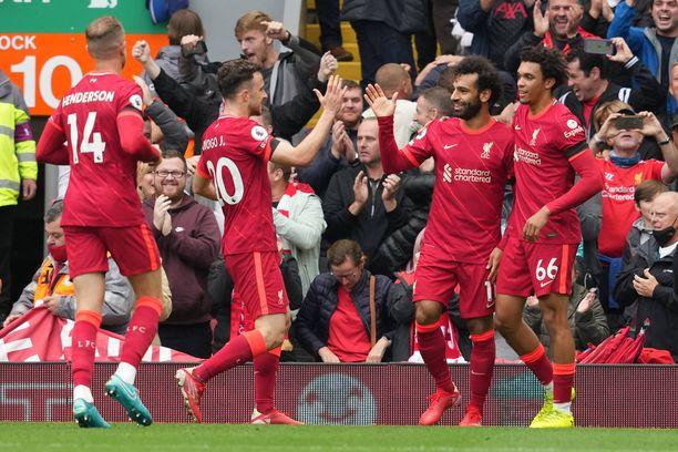Liverpool voitti vakuuttavasti.