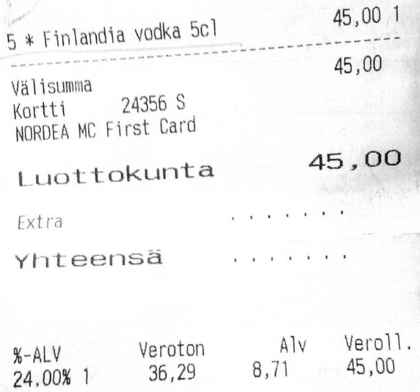 Arkkipiispan ja seurueen matka Venäjälle alkoi aamutuimaan vodka-paukuilla.