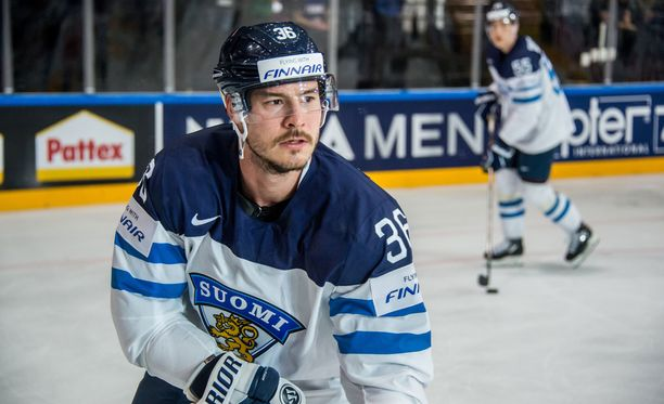 Joonas Järvinen oli mukana Suomen viime kevään MM-kisajoukkueessa.