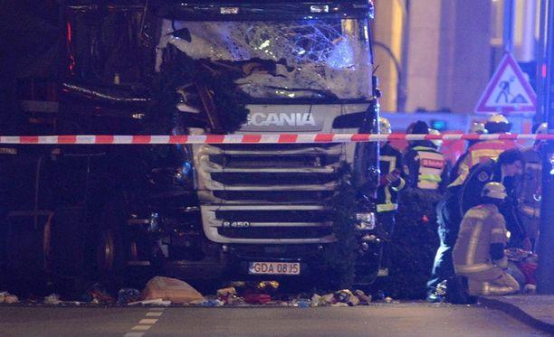 Tuhoisa isku tehtiin Berliinissä maanantai-iltana.