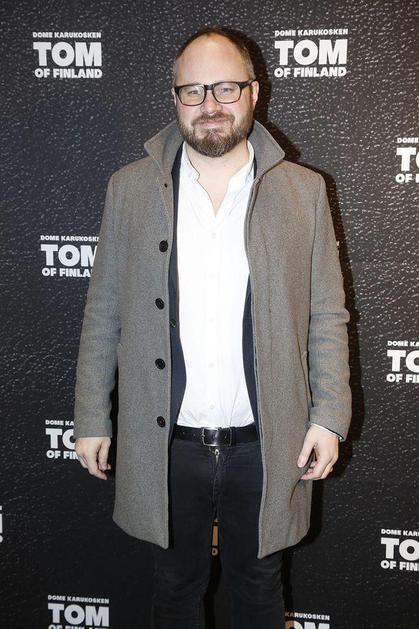 Tuomas Enbuske oli paikalla kutsuvierastilaisuudessa.