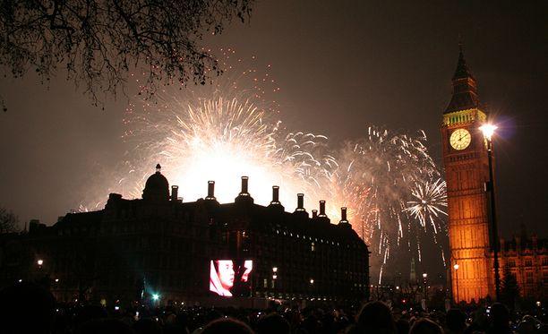 Entäpä jos katsoisit ilotulitukset tällä kertaa Lontoossa?