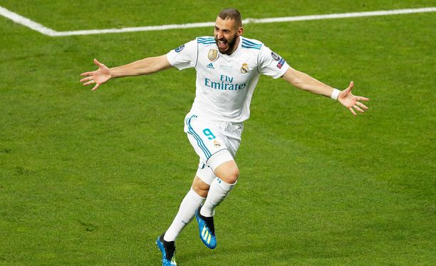 Karim Benzema teki Real Madridille erikoisen maalin.
