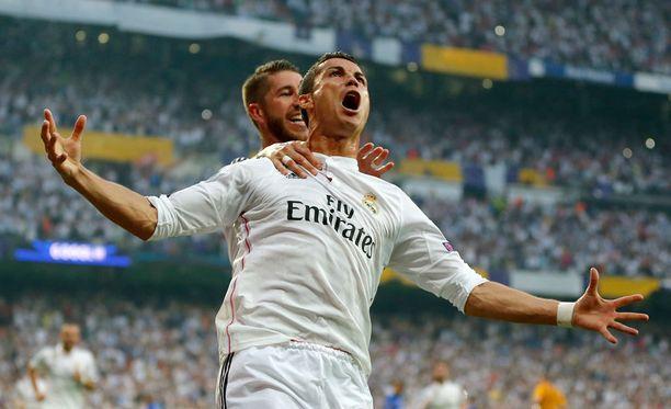 Cristiano Ronaldo iski Realille kiinnityksen UCL-finaaliin.