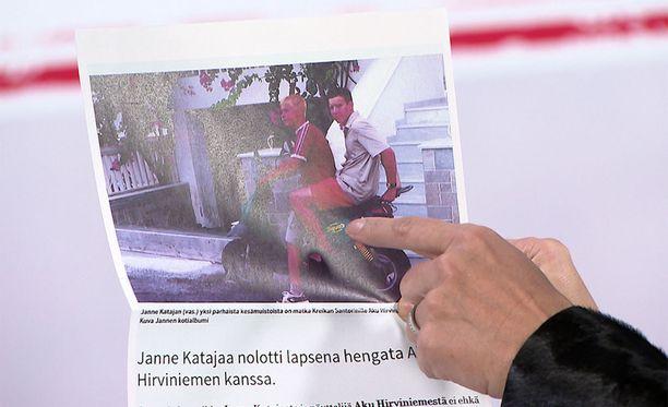 Janne Kataja ja Aku Hirviniemi ovat olleet ystäviä lapsuudesta asti.