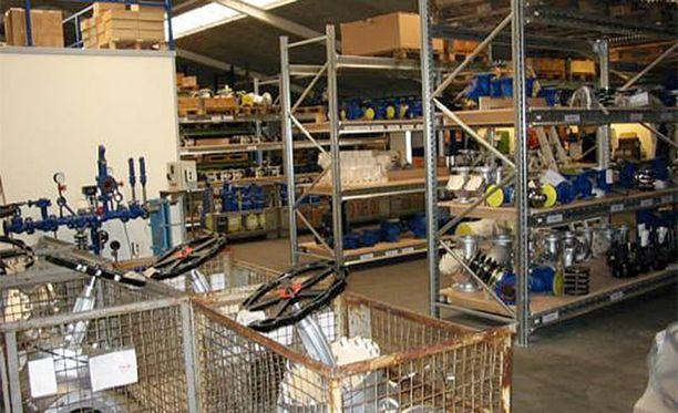 Metallialan yritys valmistaa muun muassa Suomessakin myytäviä pumppuja ja lauhteenpoistimia.