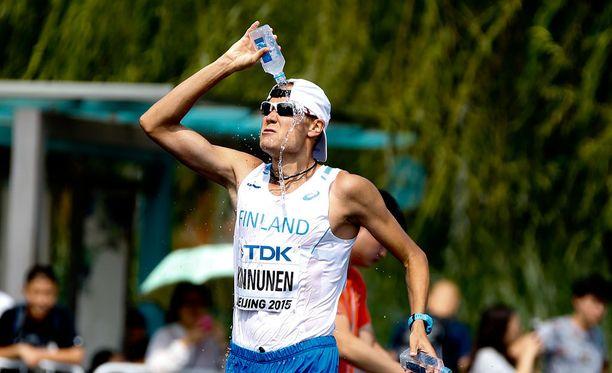 Jarkko Kinnuselle ensi kesän olympialaiset ovat uran kolmannet.
