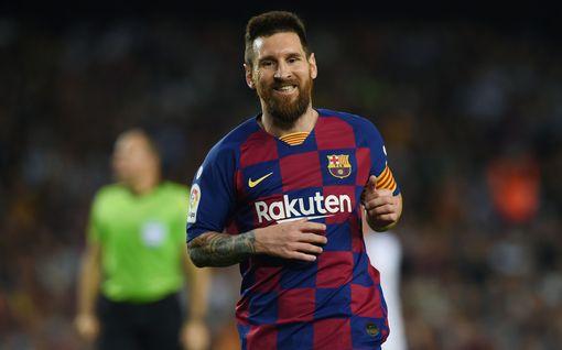 Messi kuntoutunut – latautunut Barcelona lopettaa Valladolidin leijumisen