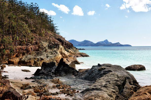 Whitsundayn saaret ovat suosittuja rantakohteita.