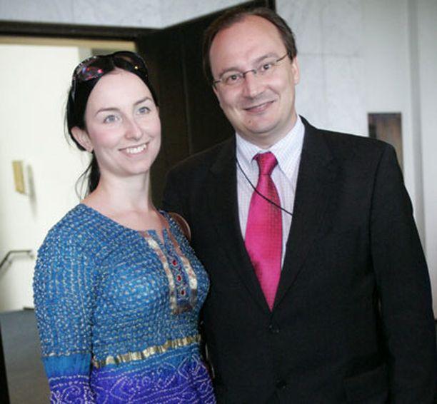 Janina ja Jari Vilén menivät naimisiin talvella 2005.