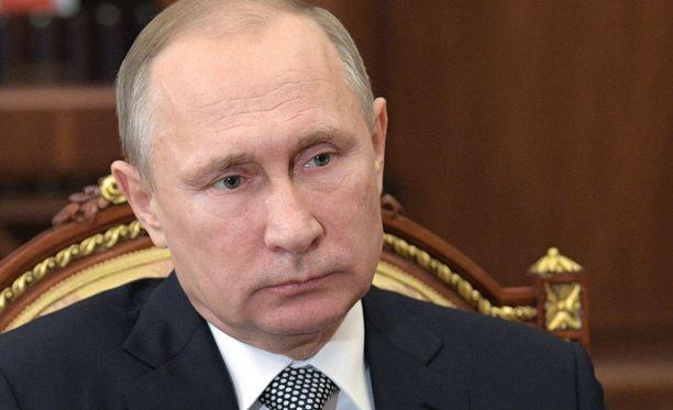 Vladimir Putin piti ampumisen jälkeen puheen, jossa hän vaati syyllisten löytämistä.