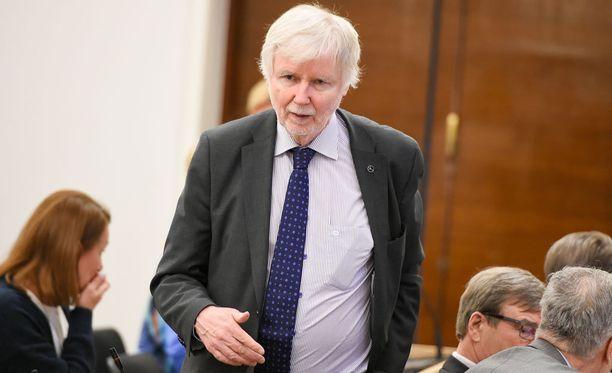 Kansanedustaja Erkki Tuomioja (sd).