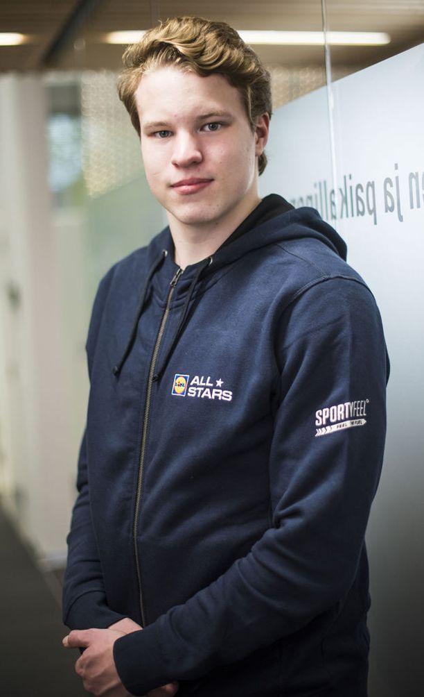 Samuel Purola haluaa rikkoa Tommi Hartosen Suomen ennätykset.