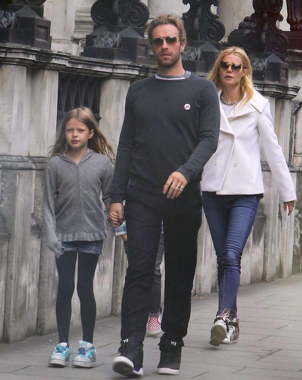 Gwyneth Paltrow'lla ja Chris Martinilla on kaksi lasta.