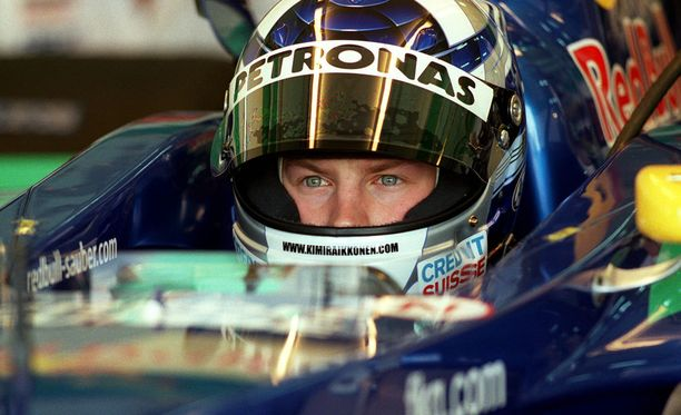Kimi Räikkönen debytoi Sauberilla vuonna 2001.