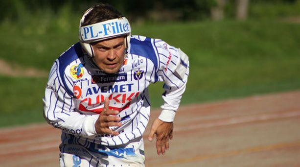 Vimpelin Sami Haapakoski toi seitsemän juoksua.