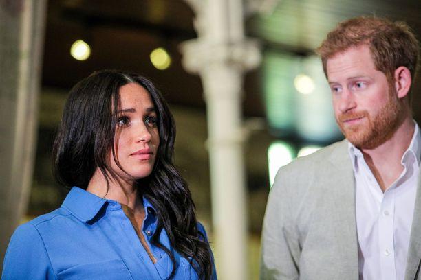 Meghan ja Harry saivat taas tylytystä osakseen.