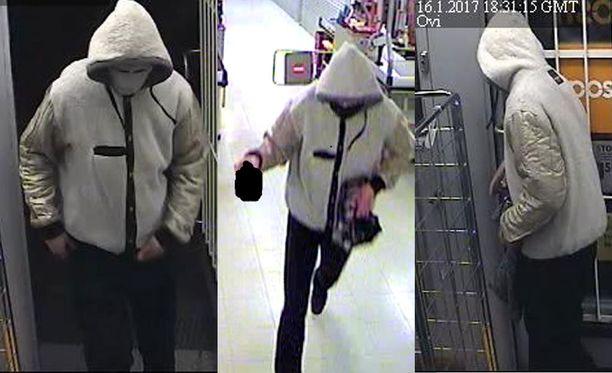 Poliisin mukaan jokaisella kerralla mies oli peittänyt kasvonsa ja esittänyt sanallisen vaatimuksen rahojen saamiseksi.