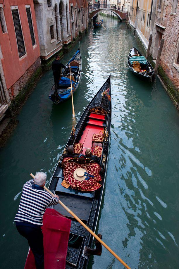 Tältä kaupungin kuuluisat kanavat näyttävät normaalisti.