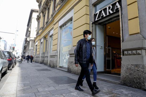Zaran myynti on romahtanut koronakriisin aikana.