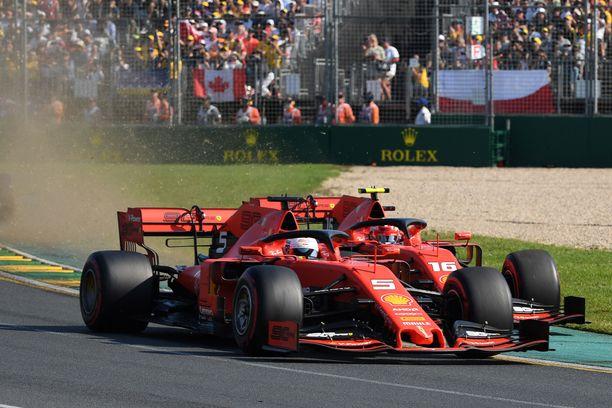 Ferrarin vuosibudjetti on F1-talleista massiivisin.