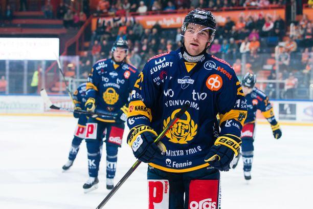 Ponthus Westerholm teki ottelun avausmaalin.