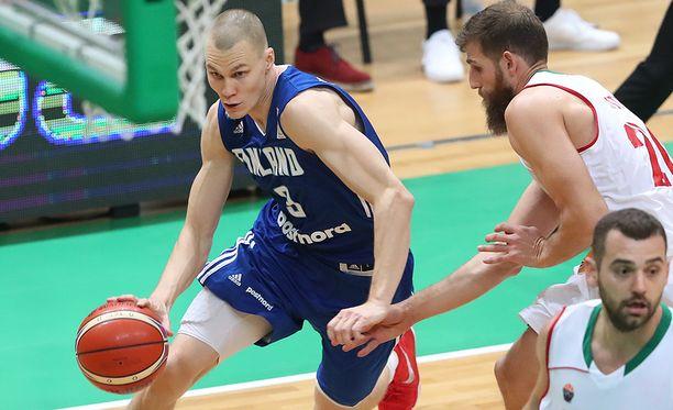 Antti Kanervo pelasi loistavan ottelun Bulgariaa vastaan.