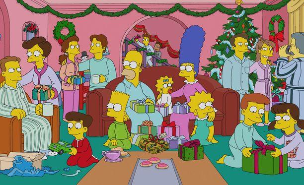 Simpsoneita on tehty jo 29 tuotantokautta.