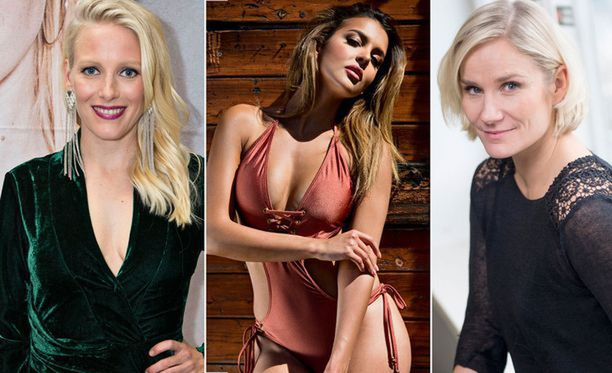 Vuodettujen kuvien kohteina ovat olleet ainakin Laura Birn (vas.), Sara Chafak ja Laura Malmivaara.